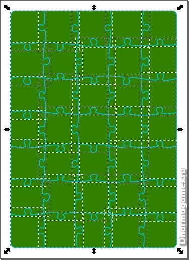 Деление поля на фрагменты