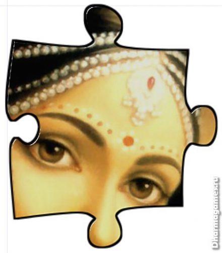 Пример работы фильтра Jigsaw Piece