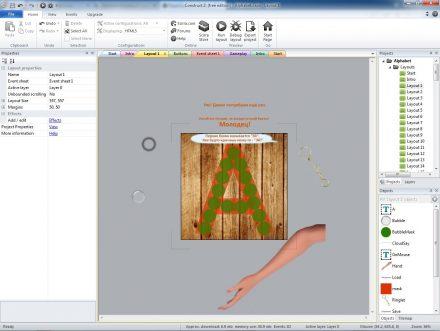 Основной игровой экран - 1 уровень