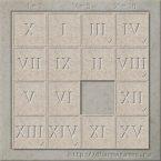 Пятнашки - Римские цифры - игра